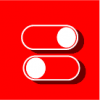 switch icon red