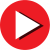 red play video icon