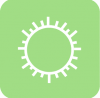 green whether aesthetic icon